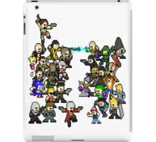 Epic 8 bit Battle! iPad Case/Skin