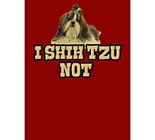 I Shih Tzu not Photographic Print