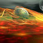 Cosmic Storm Rider by Sazzart