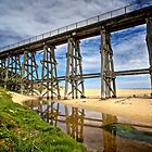 Old railway bridge by Keith Stead