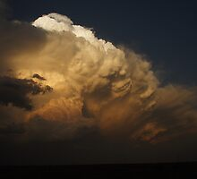 Spectacular tornadic supercell at sunset by jdeguara
