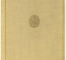 Antique Book with an illustration of a star by Colorello