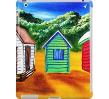 Three Shacks on Sugar Beach iPad Case/Skin