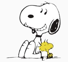 Snoopy and Woodstock by Thomassus