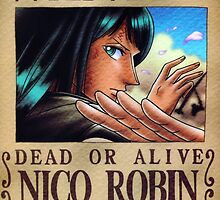 Wanted Robin - One Piece by Amynovic