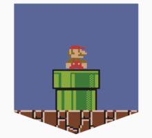 Super Mario Bros Breast Pocket Shirt by KendosGraphics