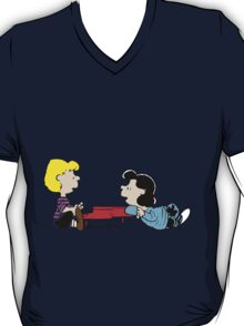 Lucy and Schroeder Peanuts T-Shirt