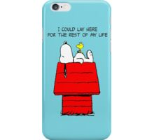 Woodstock and Snoopy iPhone Case/Skin
