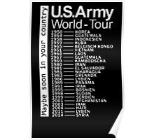 US Army World Tour Poster