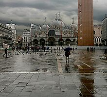 Piazza San Marco Venice by Stormswept