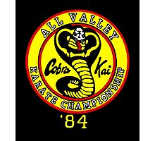 Vintage All Valley Karate Club Photographic Print