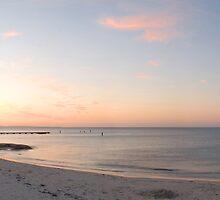 Busselton Pier at sunset by Paul Gilbert