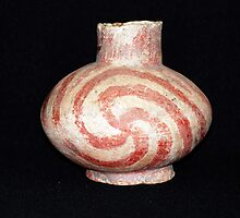 Carson Swastika Swirl ~ A 500 year old antique by barnsis