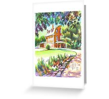 Summertime at the Ursuline Greeting Card