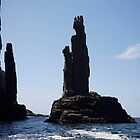 seascapes #203, rock sculpture by stickelsimages
