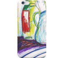 GREEN ONIONS STILL LIVE(C2013) iPhone Case/Skin