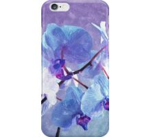 Blue Orchid-Art Prints-Mugs,Cases,Duvets,T Shirts,Stickers,etc iPhone Case/Skin