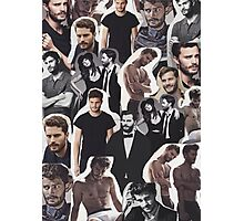Jamie Dornan Collage Photographic Print