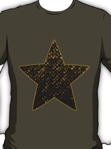 Gold Crystal Bling Strass T-Shirt