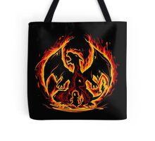 Charizard fire evolutions cool design Tote Bag