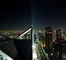Tokyo Skyscape by daveloh
