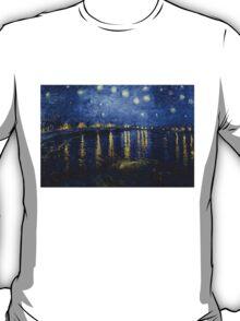 Starry Night Over The Rhone T-Shirt