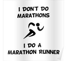 Do Marathon Runner Poster