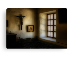 Light in a Monastery Canvas Print