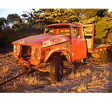 Dead Truck Photographic Print