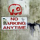 No Barking by Kurt  Tutschek