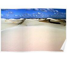 eucula sand dunes Poster