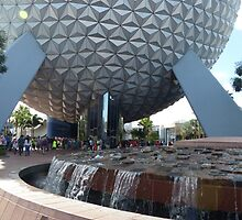 Spaceship Earth Epcot Disney World 2014 by halfaheart