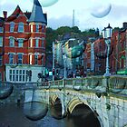 Magic Cork city, Ireland by Barbara Ignasiak