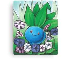 Oddish Pokemon Canvas Print