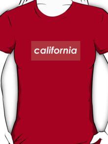 California - Red  T-Shirt