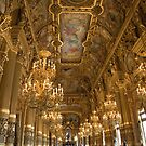 Interior of the Palais Garnier, the Paris Opera by Andrew Duke