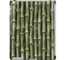Green Bamboo Nature Pattern (lge) iPad Case/Skin