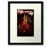 """The Killer of Love"" Framed Print"