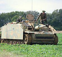 German Tank by Tony Dewey