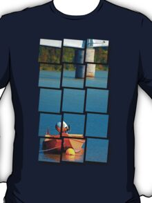 Boat on the river | landscape photography T-Shirt