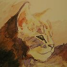 Ruby.. my cat by moonglow