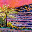 technicolor rice field by moguesy