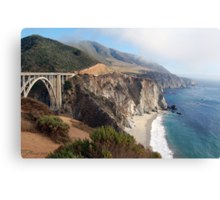 Coastal Fog Lifting Canvas Print