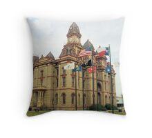 Caldwell Co. Courthouse, Lockhart, Tx. 1894 Throw Pillow
