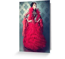 Red Queen II Greeting Card