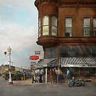City - Dillon, Montana - Today's my day off - 1942 by Mike  Savad