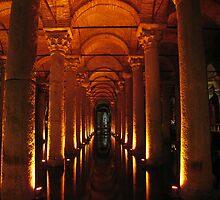 Basilica Cistern, Istanbul, Turkey by Bladzz