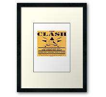 The Clash T Shirt Framed Print