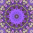 Paper Doily Mandala by Lyle Hatch