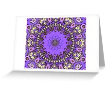 Paper Doily Mandala Greeting Card